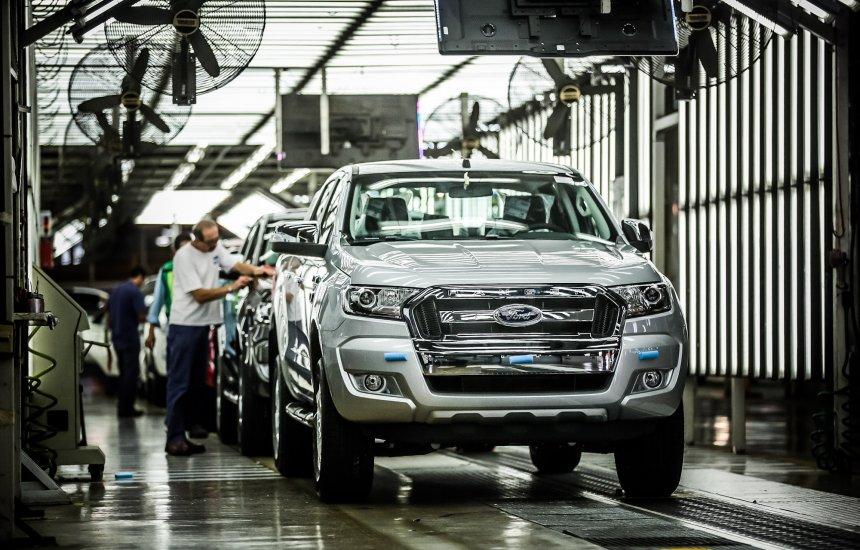 [Produção de 900.000 unidades da Ranger é comemorada pela Ford]