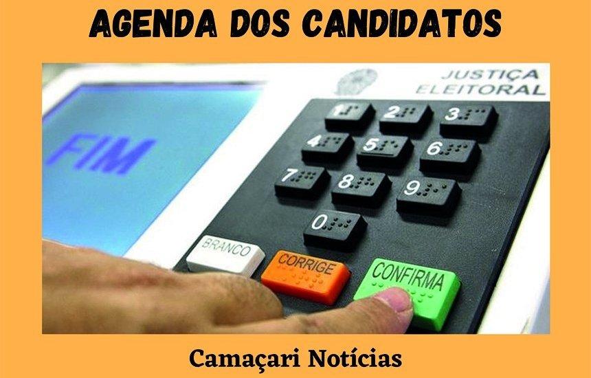 [Confira a agenda dos candidatos a prefeito de Camaçari nesta sexta-feira (23)]
