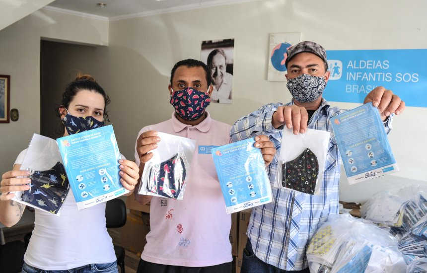 [Ford dá seguimento à distribuição de máscaras em comunidades de São Paulo]