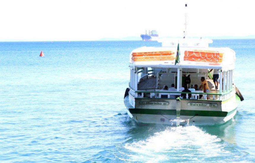 [Travessia Salvador-Mar Grande tem fluxo tranquilo e opera até às 18h30]