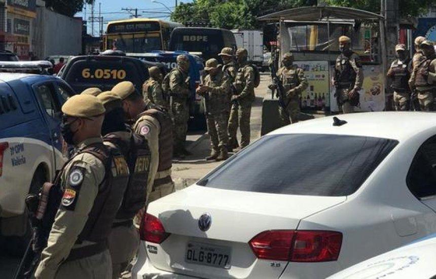 [PM é atacada por grupo que tinha granada e coletes em Salvador; Graer e Rondesp são acionados]