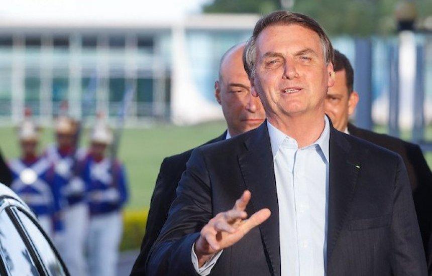 """[Bolsonaro sobre colapso da saúde em Manaus: """"Nós fizemos a nossa parte""""]"""