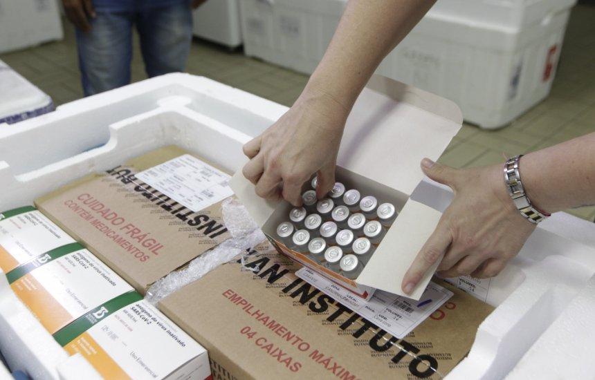 [Novas 54.600 doses levam a Bahia a atingir mais de meio milhão de vacinas recebidas]